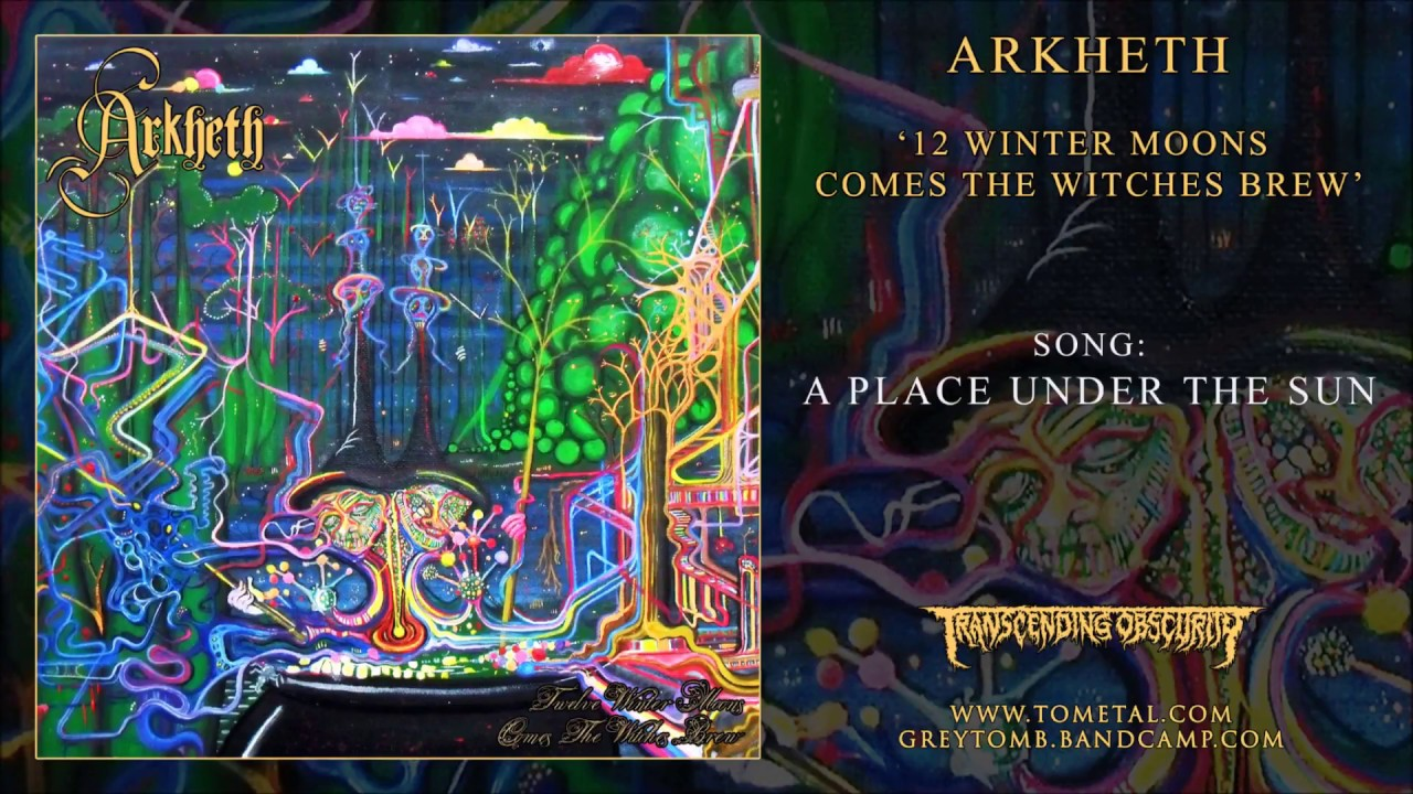 ARKHETH (Australia) - A Place Under The Sun (Atmospheric Black Metal)  Transcending Obscurity Records