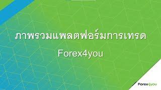 Forex4you - ภาพรวมแพลตฟอร์มการเทรด Forex