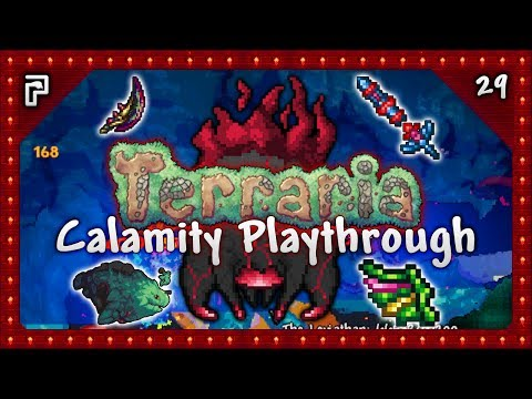 🌳 INSANE Swords, Aureate Wings & Leviathan! | Terraria 1.3.5 Calamity Mod Let's Play [Episode 29]