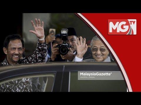 Pertemuan Sejam Sultan Brunei dan Tun Mahathir