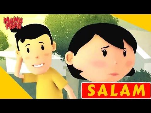 Memberi Salam Sebelum Masuk Rumah  | Film Anak Muslim | Mama Papa Episode 01