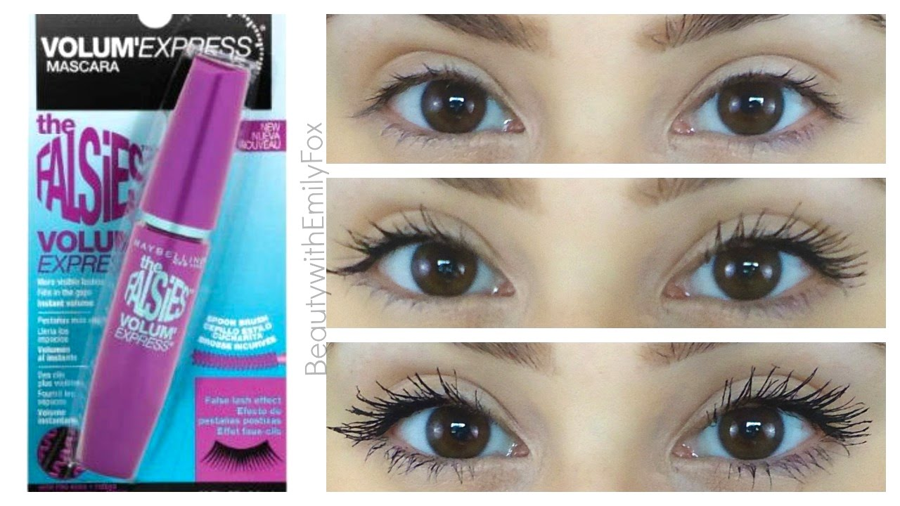 Maybelline mascara falsies flared review