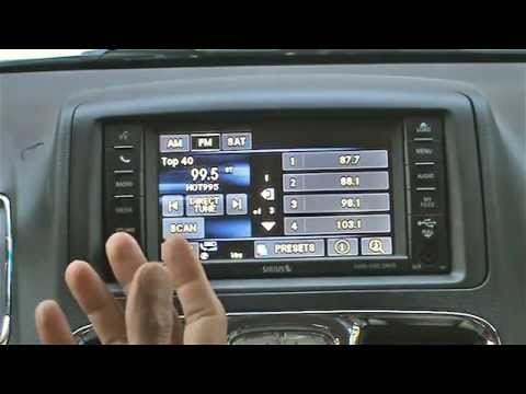 2013 Chrysler Town & Country Uconnect Review — Car Tech Talk