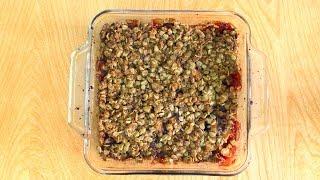 Gluten Free Apple Cranberry Crisp!! - Dalya Rubin - Its Raining Flour Episode 9