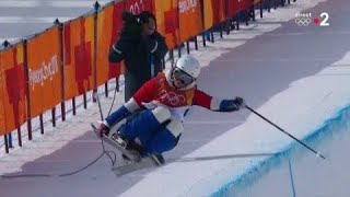 JO 2018 : Ski acrobatique - Half-pipe Femmes : Marie assure la finale dès son premier run