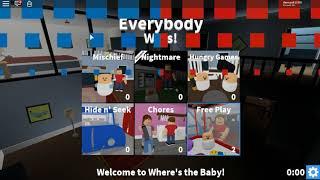 Roblox #5 Où le bébé le bébé XD dziwne heh
