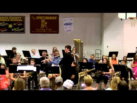 "Davis County Middle School Jazz Band performing ""Blue Train"""