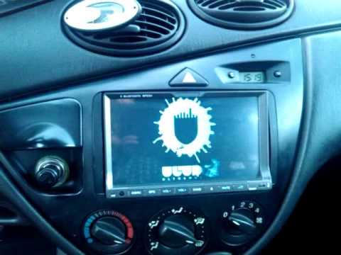 Ford Focus 2din Dvd Gps Camera Equalizer Youtube