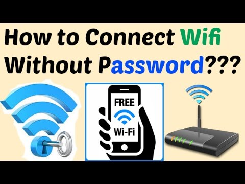 How to Connect Wifi Without Password (simple trick) in Hindi
