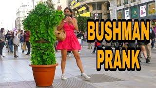 Bushman Prank in Madrid Scaring People [Parte #8] HILARIOUS