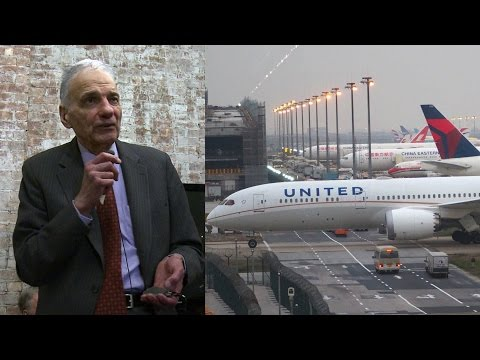 """Ralph Nader Explains Why United Airlines Has """"Total Unbridled Discretion to Throw You Off a Plane"""""""