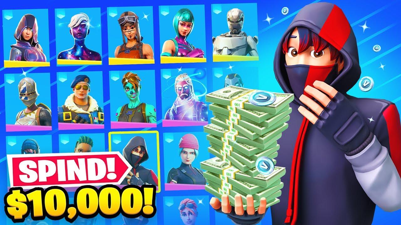 OMG🤑😱 Ich zeige meinen 10.000€ Fortnite Spind