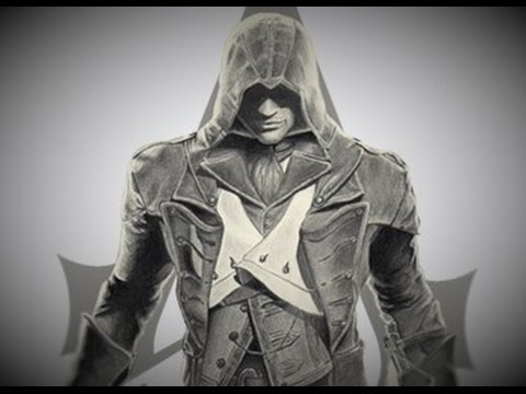 Drawing Assassin's Creed Unity - YouTube