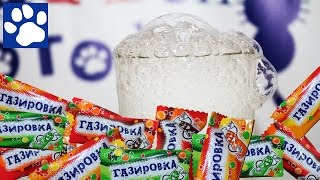 Как Сделать Газировку Из Конфет | How To Make A Soda From Sweets