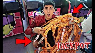 DO NOT DO THIS AT THE ARCADE!! *JACKPOT*