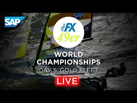 49er Sailing Live Replay - 2016 Worlds Day 5