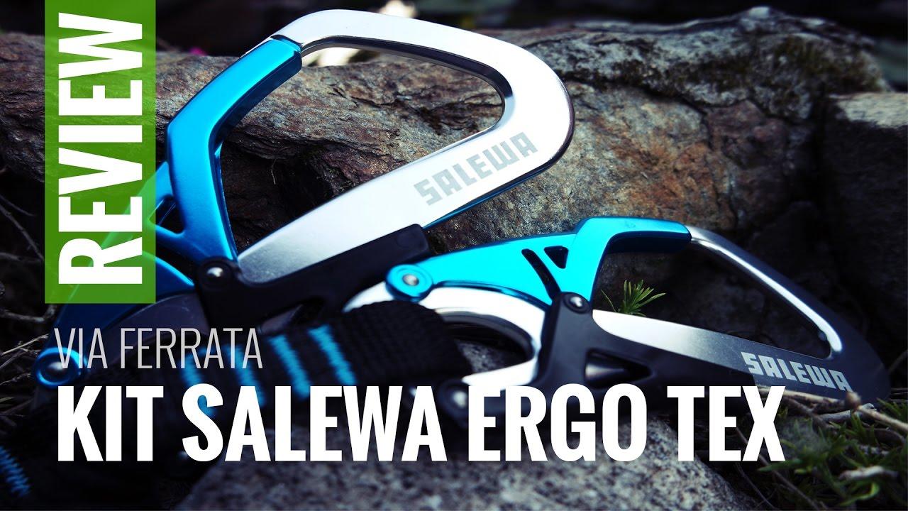 Salewa Set Via FERRATA Ergo Core
