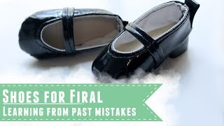 Firal's shoes and learning from mistakes: Things I've learned while making doll shoes