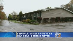 Beaver Co. Personal Care Home Shut Down