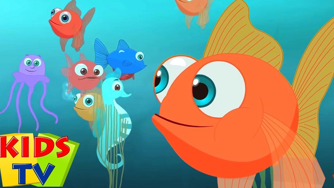 मछली जल की रानी है | Machli Jal Ki Rani Hai | Balgeet | Hindi Songs | Uppar Pankha Chalta hai