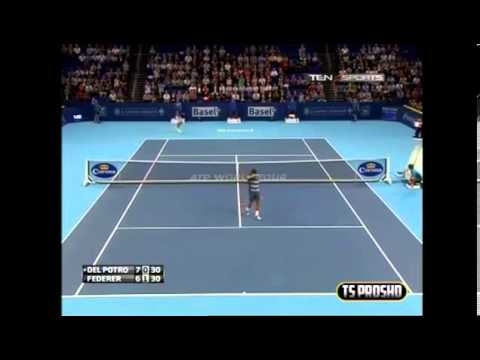 Juan Martin Del Potro Vs Roger Federer FINAL HIGHLIGHTS ATP