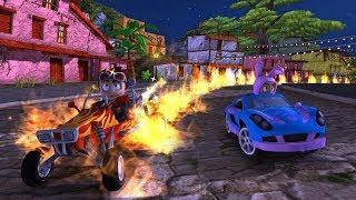 Beach buggy racing game ! race in mushroom guttu ! child racing games ! race 6
