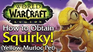 How to Obtain Squirky (Yellow Murloc Pet) [Legion]