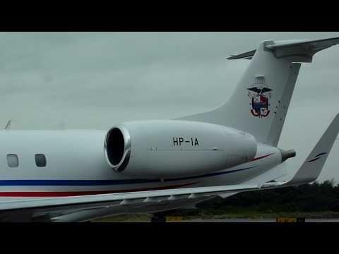 Republica De Panama , HP-1A , Air Force @ Embraer EMB-135BJ Legacy