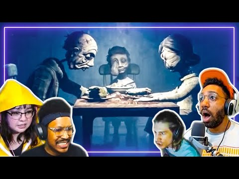 Gamers REACT to Little Nightmares 2 | Gamers React |