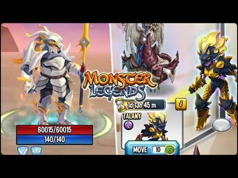 TALANY (4475 Fichas) + PROBANDO A WYRMLAD! - Monster Legends