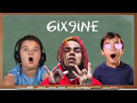 KIDS REACT TO 6IX9INE - GUMMO