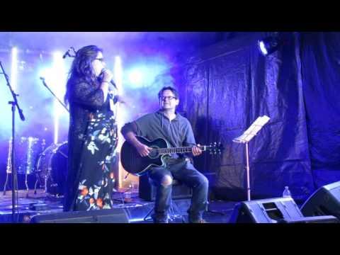 Amy Dawn Cutler at Staxtonbury Music Festival 2017.