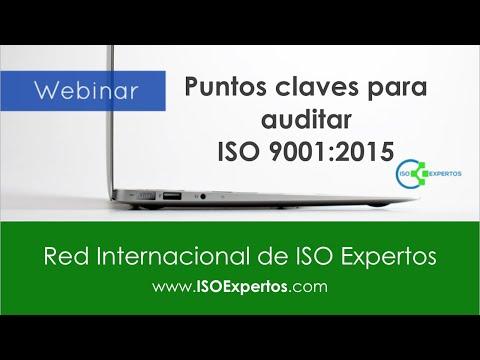 Puntos claves para Auditar ISO 9001 2015