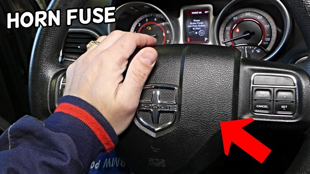 Dodge Journey Horn Fuse Location Replacement