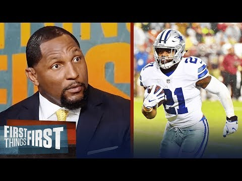 Ray Lewis explains how important Ezekiel Elliott is for the Cowboys | FIRST THINGS FIRST