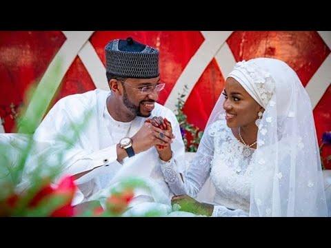 Download Buhari's daughter Hanan marries Fashola's aide in Aso Rock