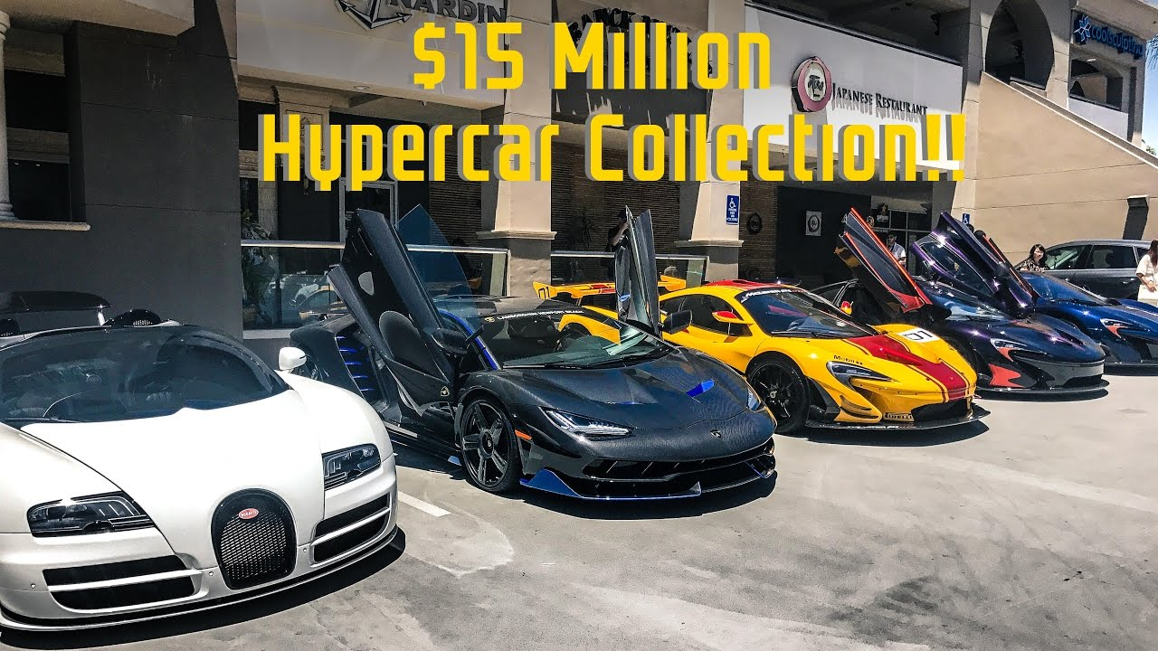 The Best Car Show In California Million Hypercar Collection