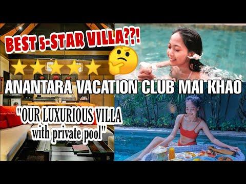 PHUKET VLOG1: We Stayed in a FIVE-STAR HOTEL IN PHUKET! Anantara Vacation Club Mai Khao