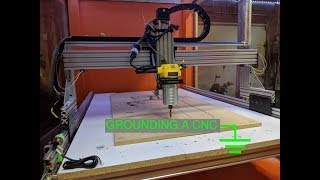 Fixing Electromagnetic Interference and Grounding a CNC