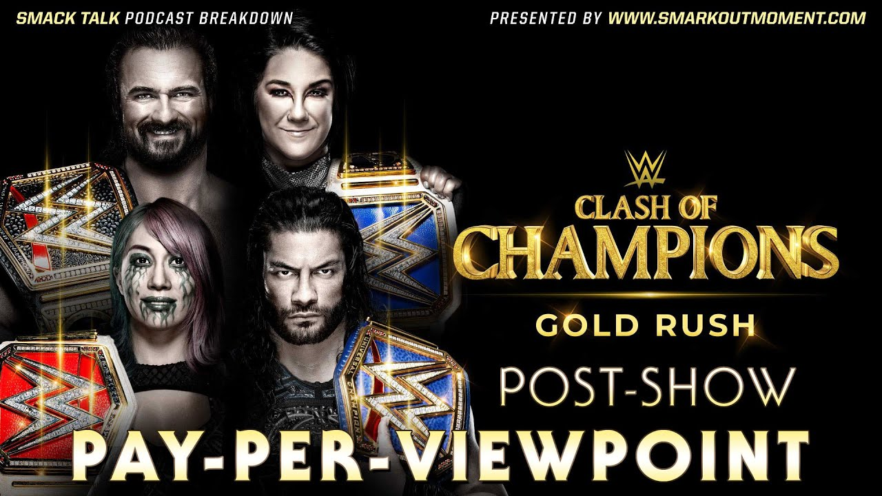 Download WWE CLASH OF CHAMPIONS 2020 PPV Review & Event Results Recap Post-Show