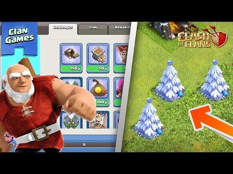 HUGE WINTER UPDATE IS HERE! | Clan Games, Magic Items, X-Mas Tree! | Clash of Clans Update