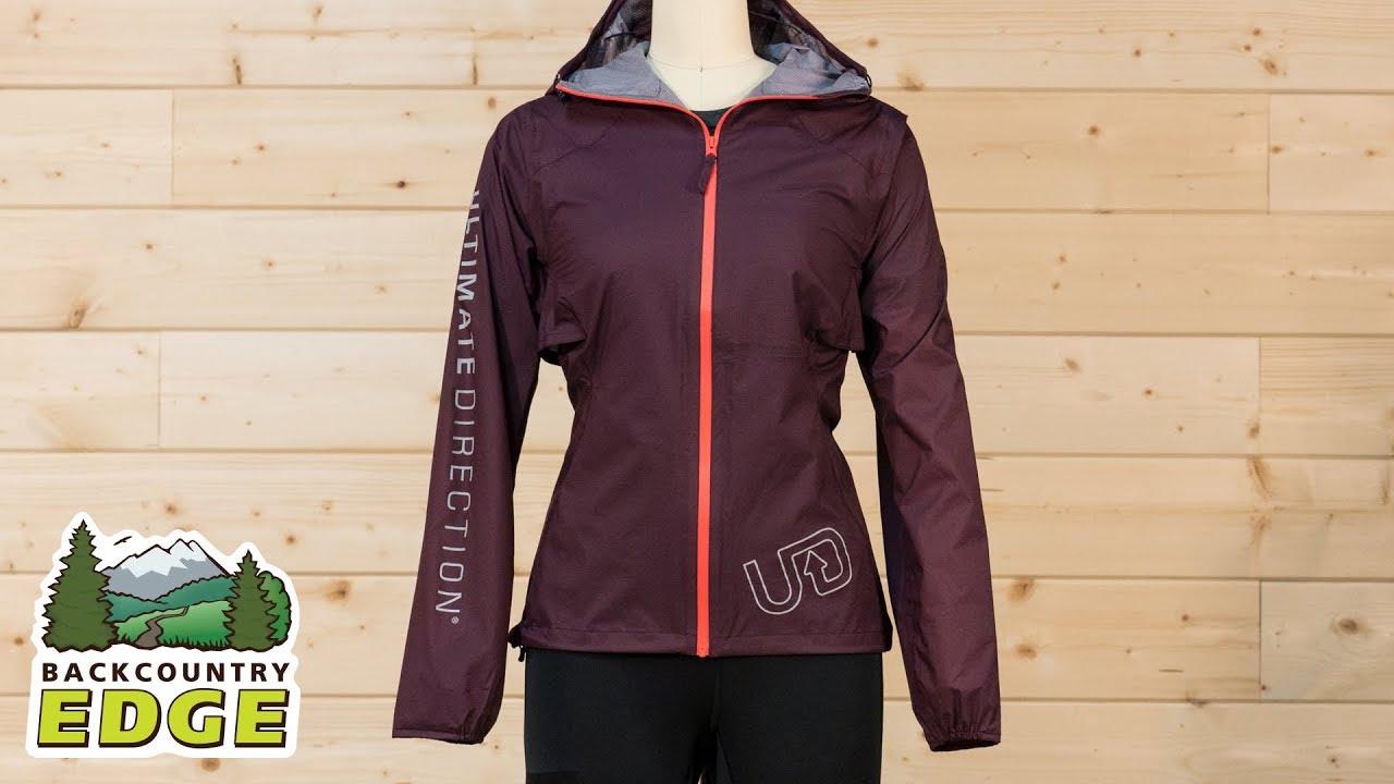 45cb86ef4b3 Ultimate Direction Women's Ultra Jacket 2.0 - YouTube