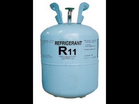 Refregerants R11 R12 R22 R134 Youtube
