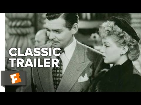 Somewhere I'll Find You (1942) Official Trailer - Clark Gable, Lana Turner Movie HD