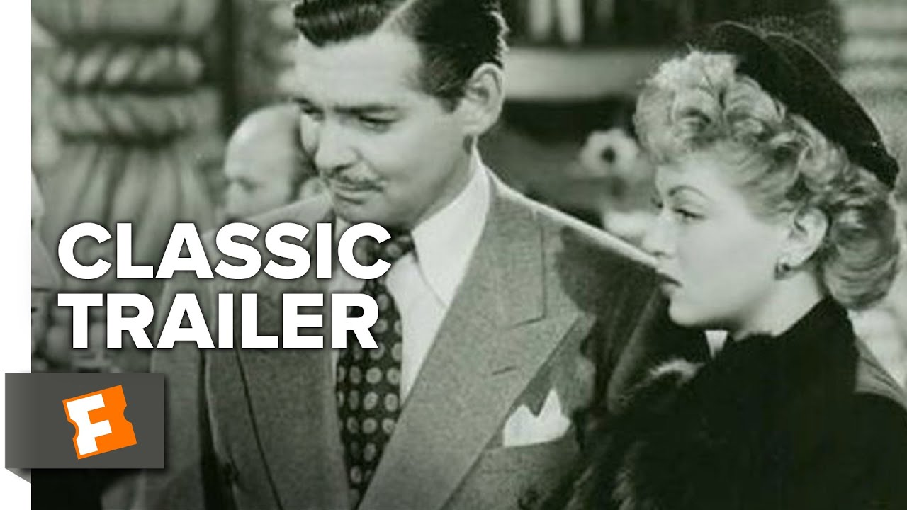 Somewhere I Ll Find You 1942 Official Trailer Clark Gable Lana Turner Movie Hd Youtube