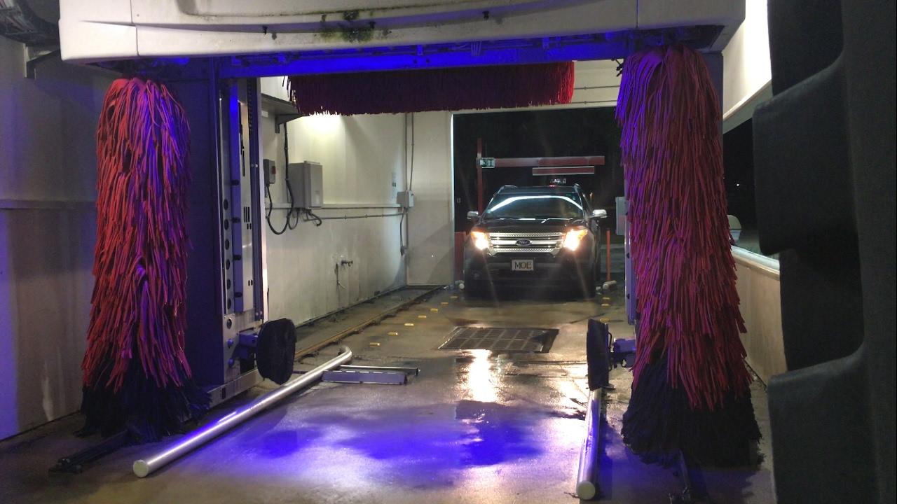 Shell Gas Station Car Wash >> Mark VII ChoiceWash XT: Shell/Circle K Gas Station in Brandon, FL - Outside View - YouTube