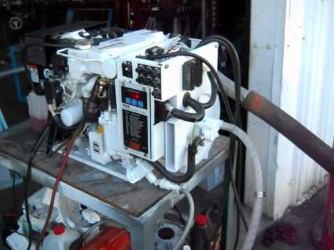 Kohler Gas Marine Generator 5ECD 5KW with Low Hours  YouTube