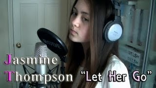 """Jasmine Thompson - """"Let Her Go"""" (Passenger cover) preview"""