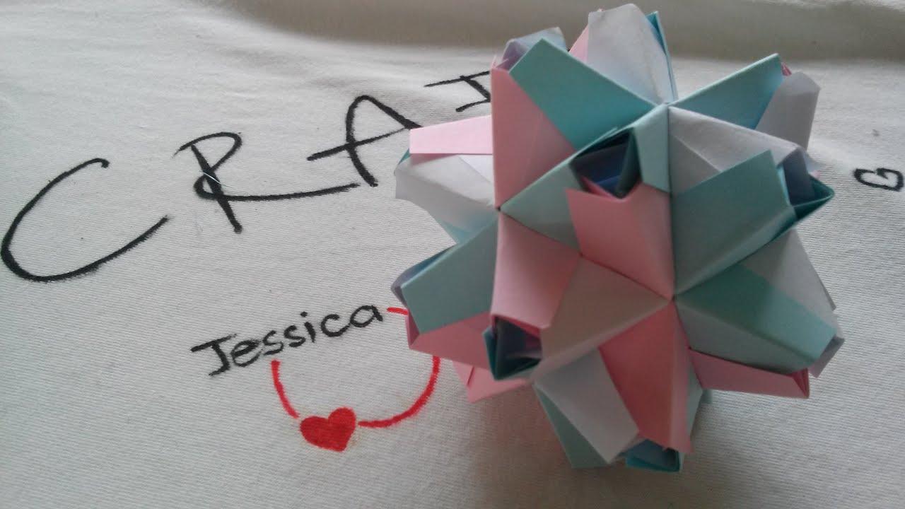 Origami Easy - Origami Ball - Origami Kusudama Ball - YouTube - photo#14