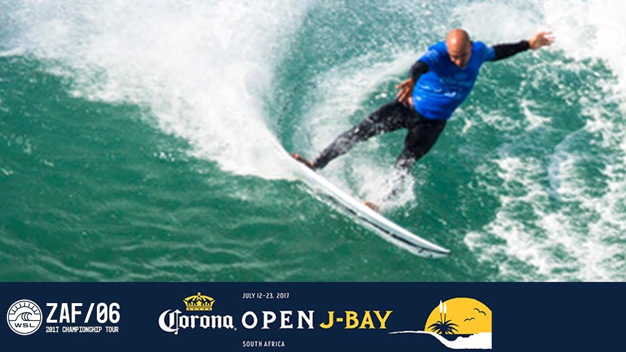 7f6034aecb Kelly Slater s 9.10 Double Barrel in Round One - Corona Open J-Bay ...